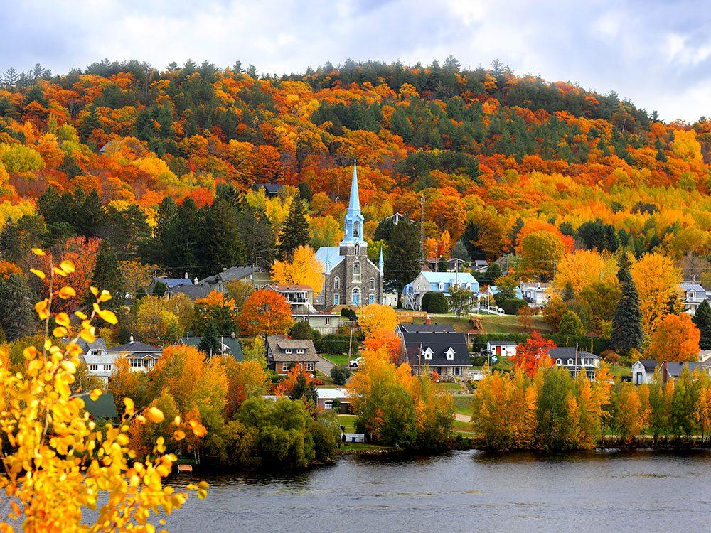 Grandes-Piles en Mauricie est l'un des panoramas à couper le souffle au Québec.