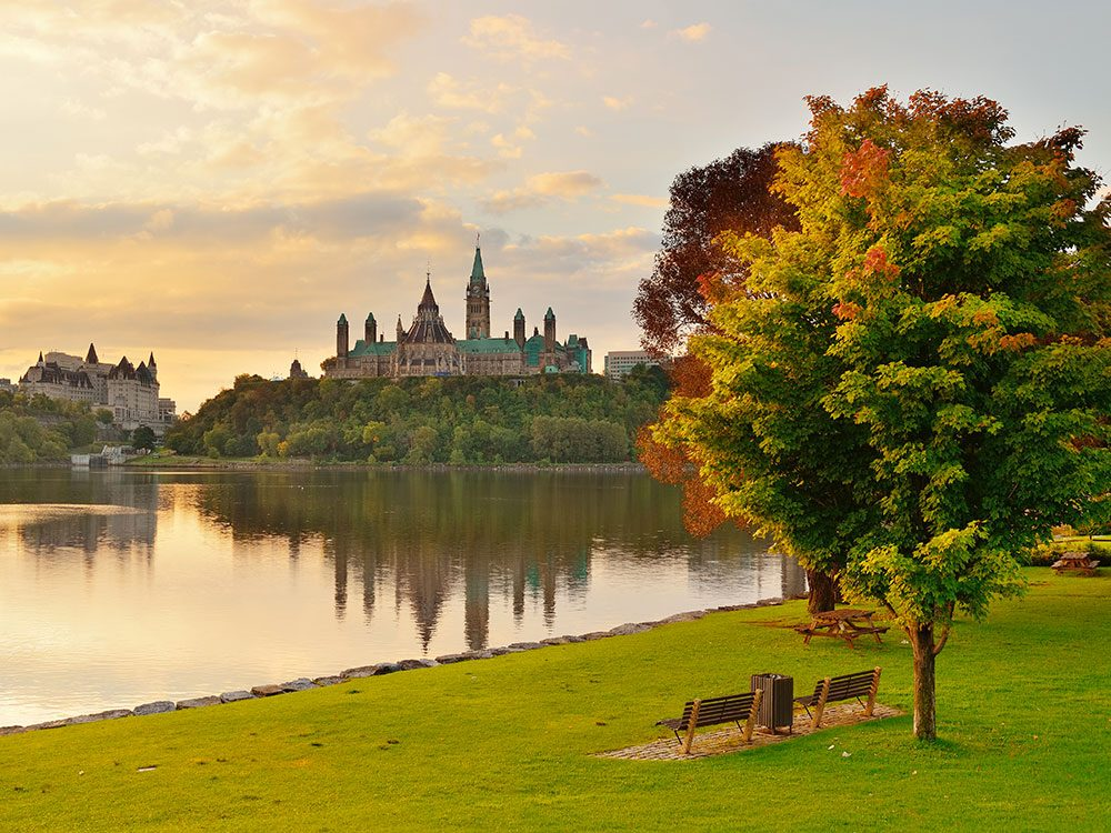 Ottawa est l'un des panoramas à couper le souffle au Québec.