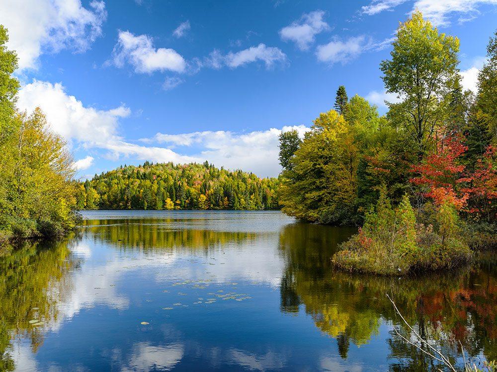 Le parc national du Fjord-du-Saguenay est l'un des panoramas à couper le souffle au Québec.