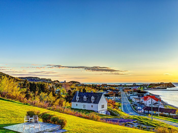 Percé en Gaspésie est l'un des panoramas à couper le souffle au Québec.