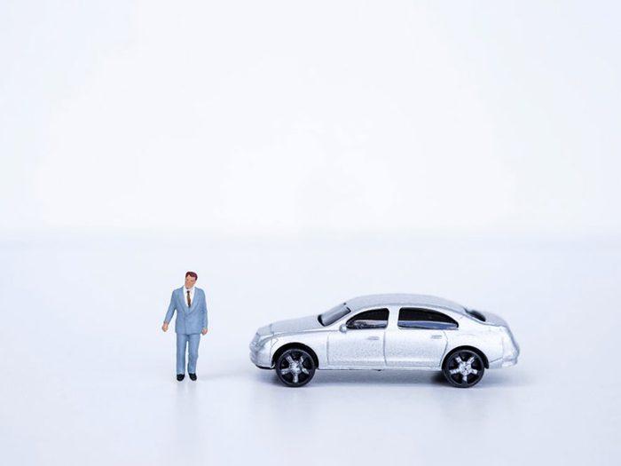 Ne payez pas en argent comptant pour le financement de l'auto.