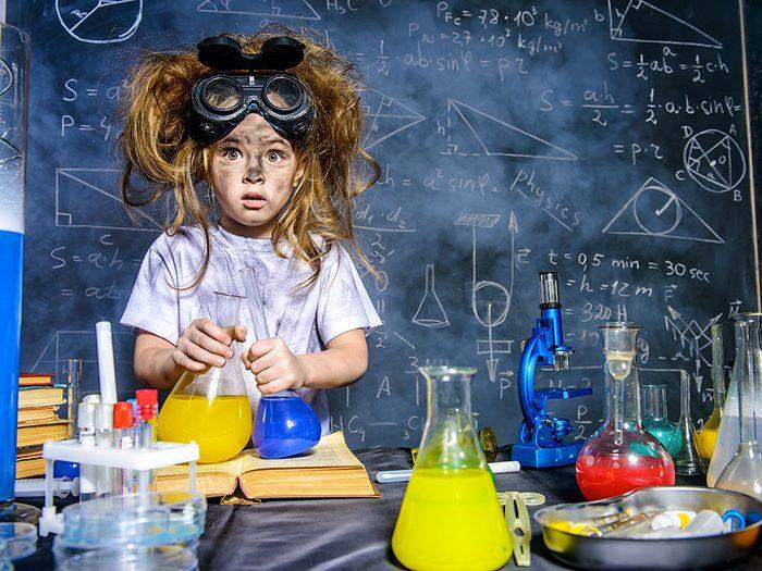 Photos hilarantes: le génie n'a pas d'âge.