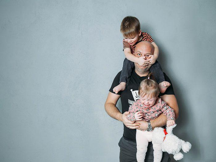 Photos hilarantes: la vie de père.
