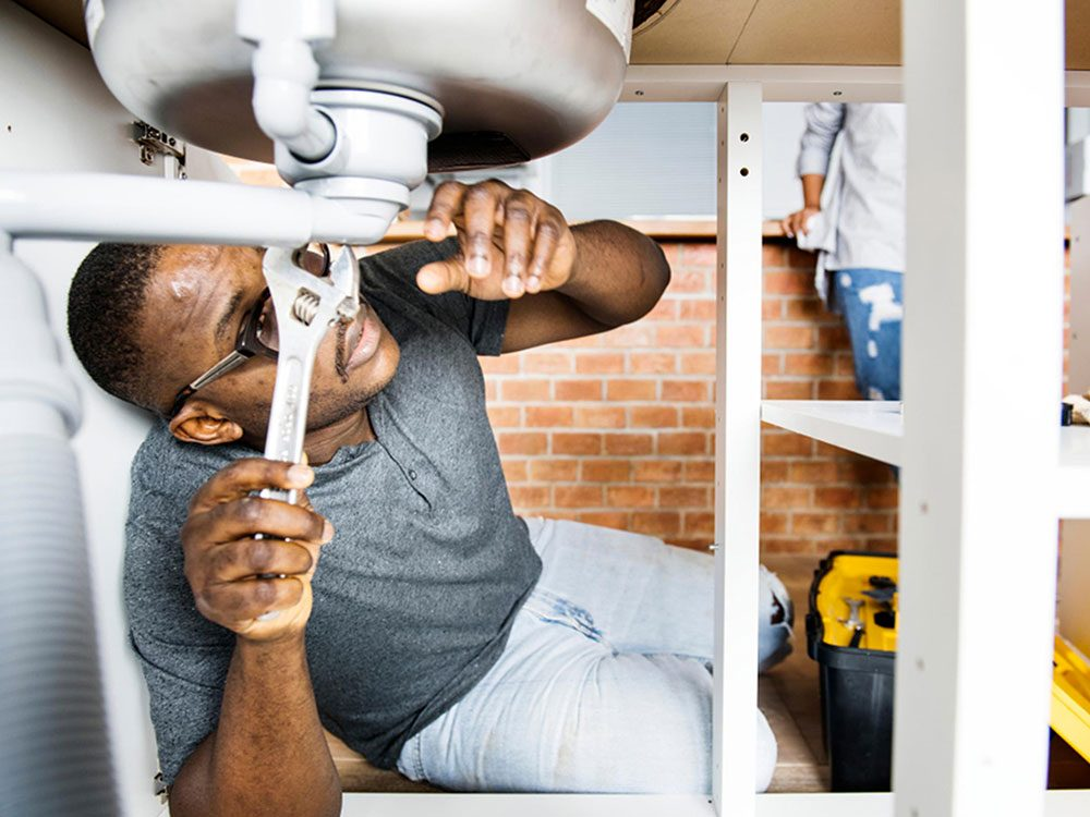 Ne surestimez pas vos talents de plombier.
