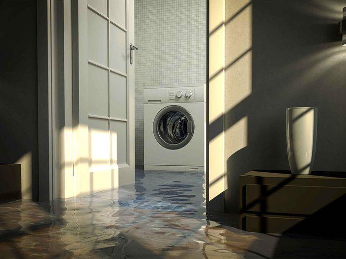 Les plombiers disent que les tuyaux de machine à laver peuvent être catastrophiques.