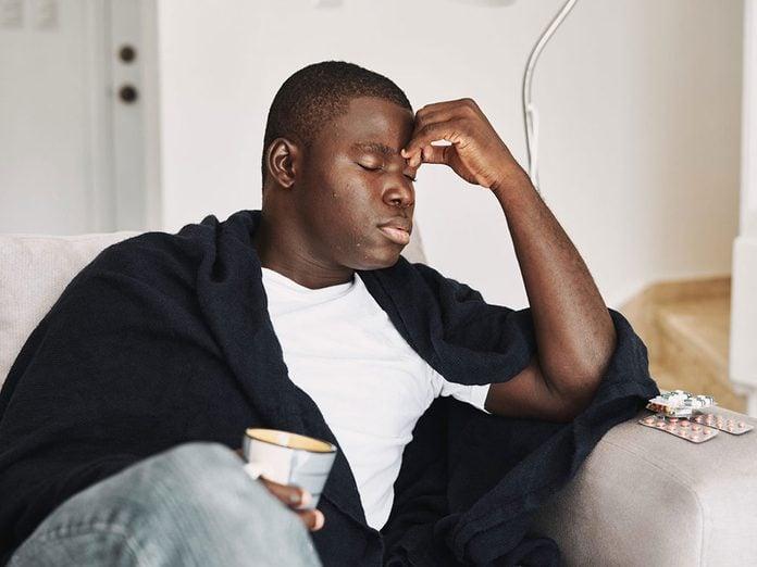 Quand le stress rend malade et peut peut provoquer des maux de tête.