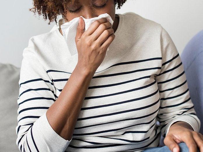 Quand le stress rend malade au point d'être tout le temps enrhumé!