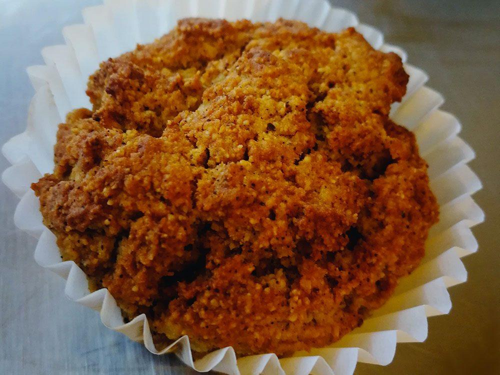 Recette de muffins paléo au café et à la noix de coco.