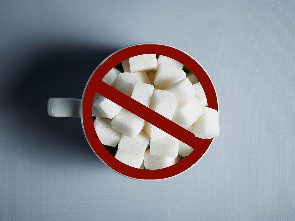 Les friandises «sans sucre» sont à éviter si vous avez un rhume ou une grippe.