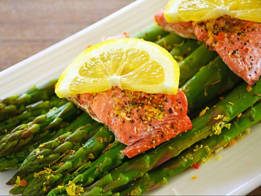 Manger plus de poisson est bon pour la santé des os.