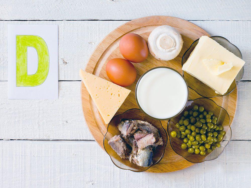 Pensez vitamine D pour la santé de vos os!
