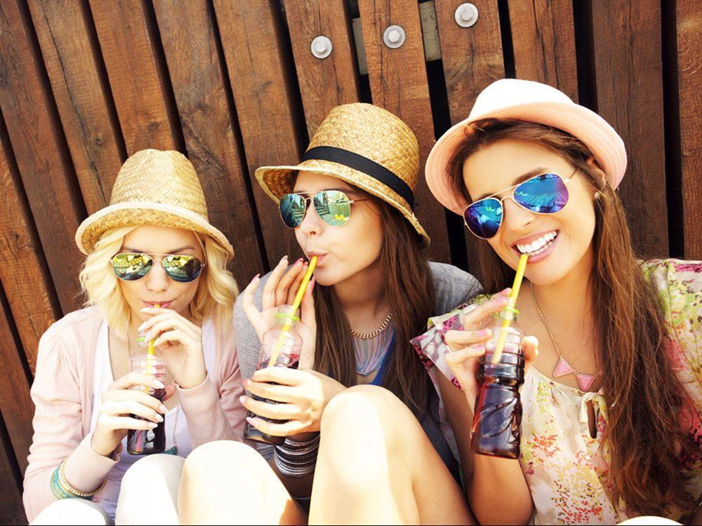Bannir les boissons gazeuses est bon pour la santé des os.