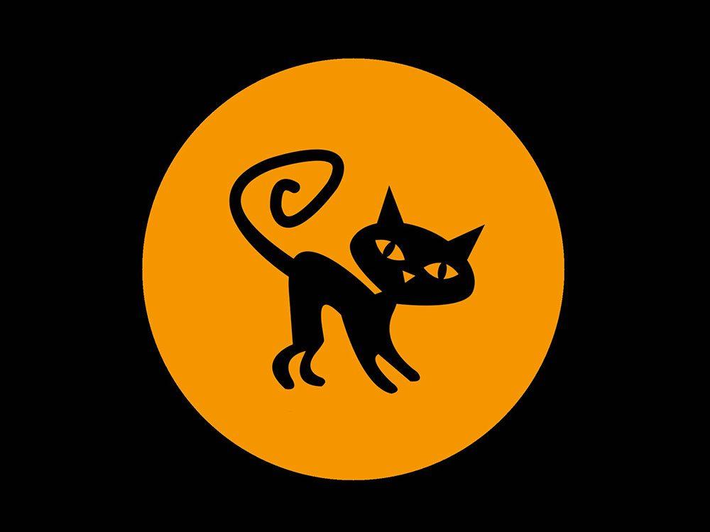 La superstition des chats noirs.