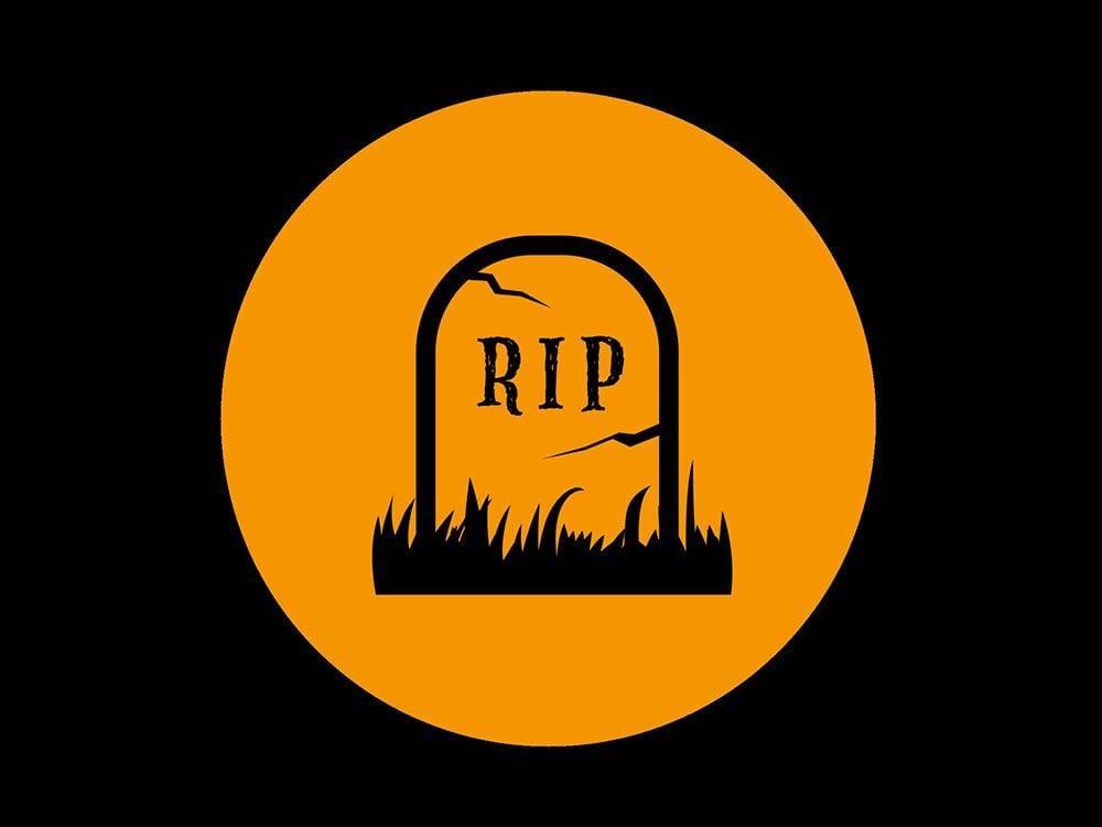 La superstition des cimetières.
