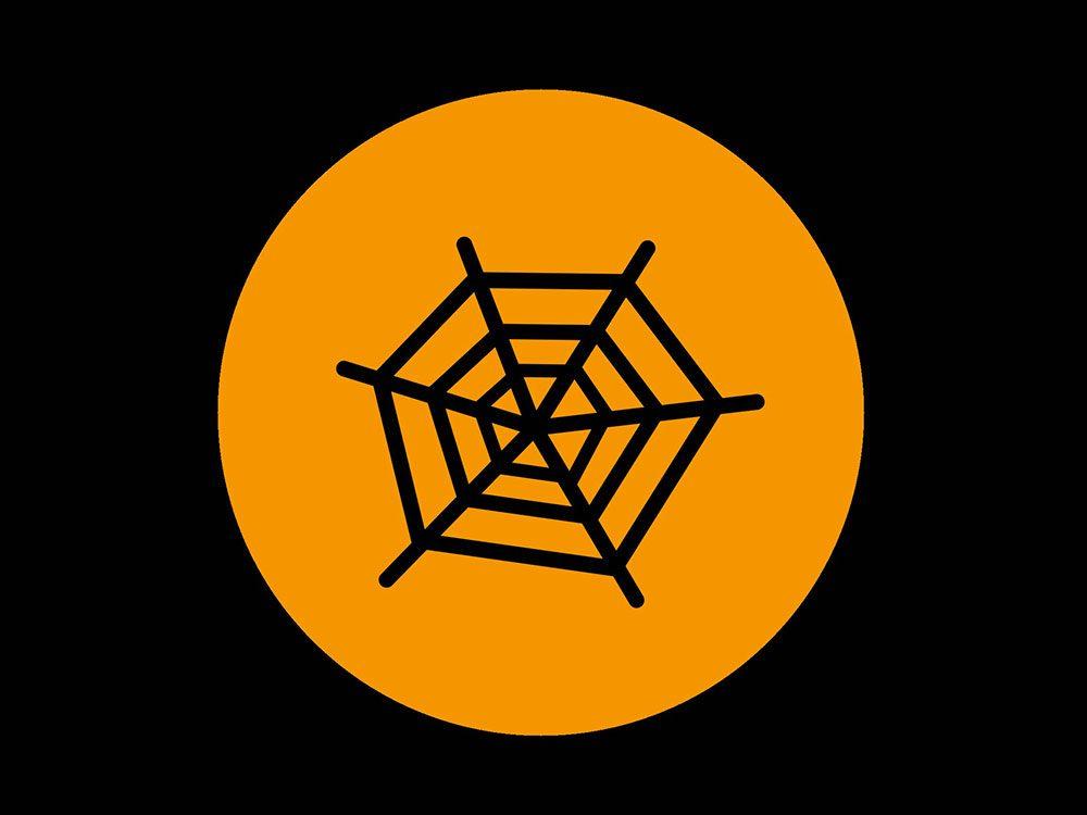 Superstition: le noir et l'orange, couleurs officielles de l'Halloween.