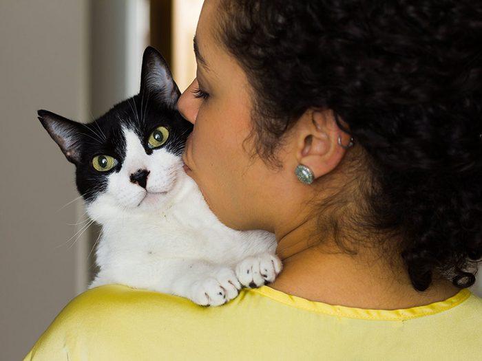 Fait sur les chats: ils ont des sons distincts pour leur maître.