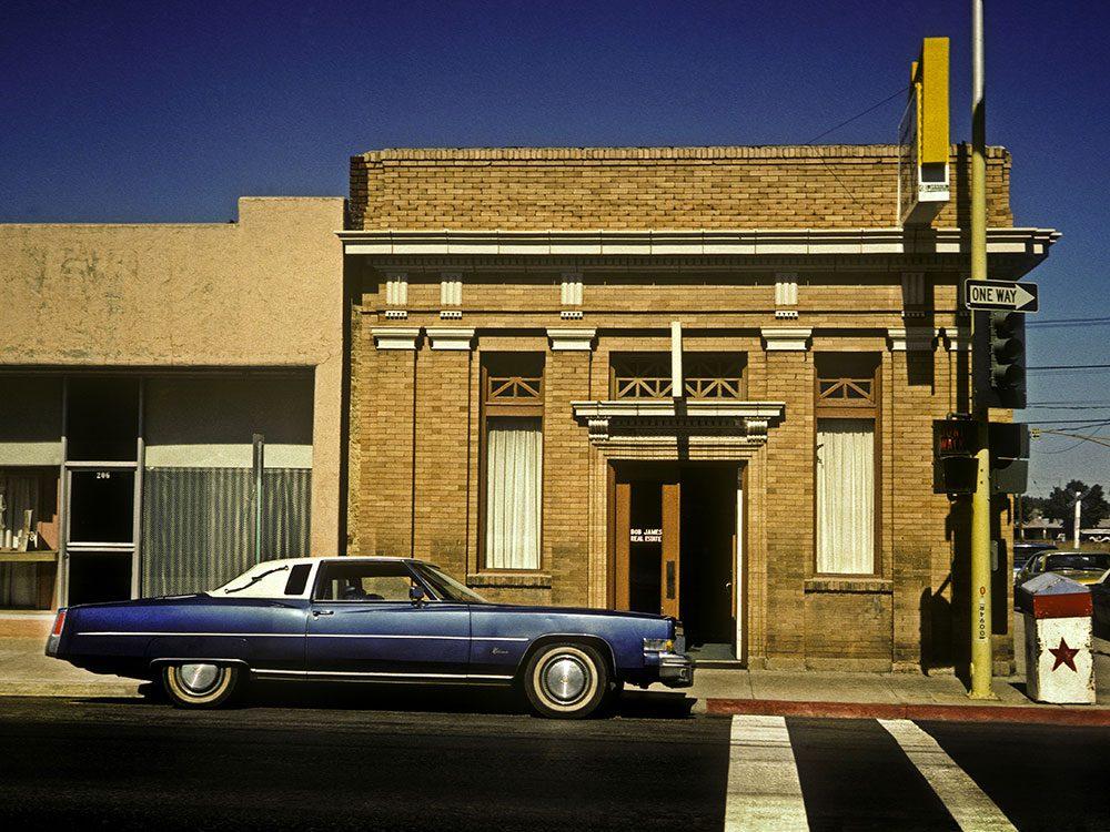 La Cadillac Eldorado est une voiture vintage.