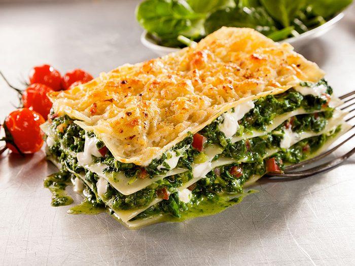 Pour manger plus de légumes, adaptez vos recettes pour les inclure.