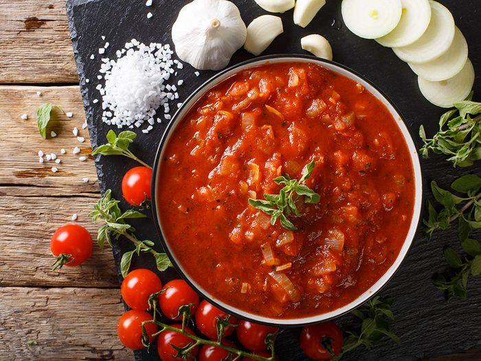 Pour manger plus de légumes, faites-en une sauce.