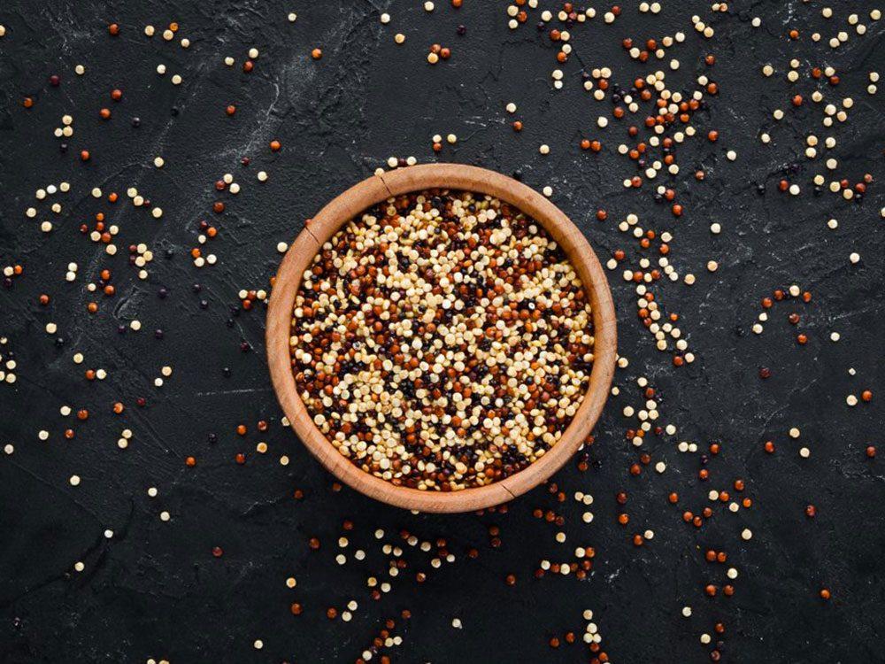 Le quinoa est l'un des aliments populaires maintenant, mais pas il y à 100 ans!