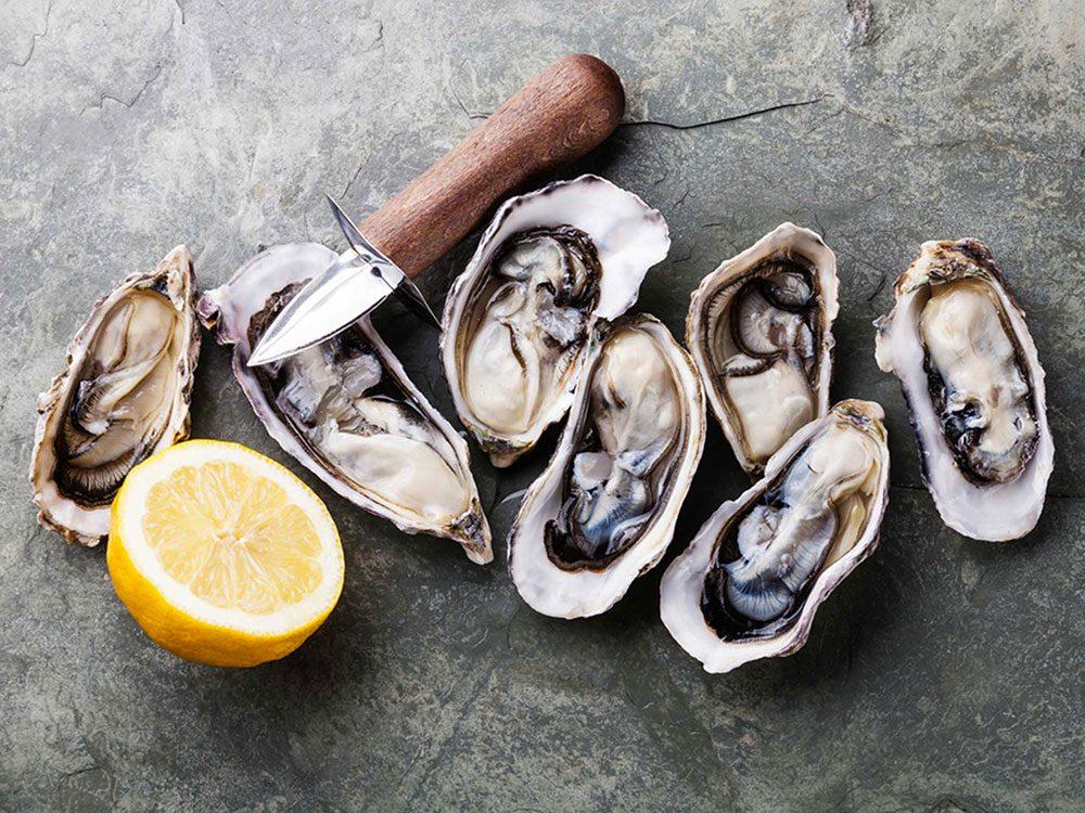 Les huîtres sont des aliments populaires maintenant, mais pas il y à 100 ans!