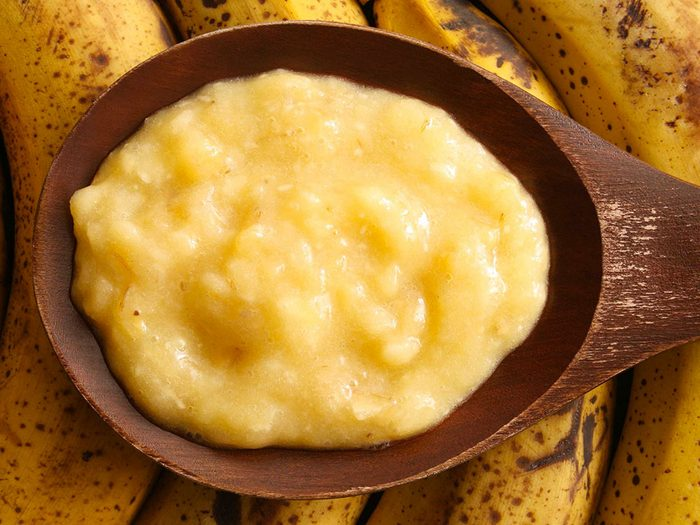 Faire peau neuve grâce à la banane.