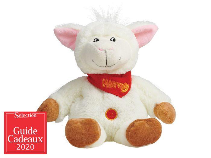 Alix le mouton fait partie des idées de cadeaux de Noël.