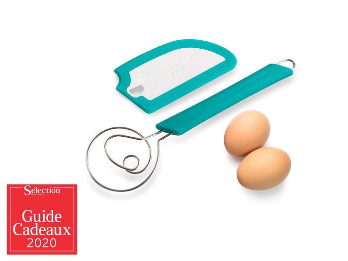 Le kit de fabrication de pain fait partie des idées de cadeaux de Noël.
