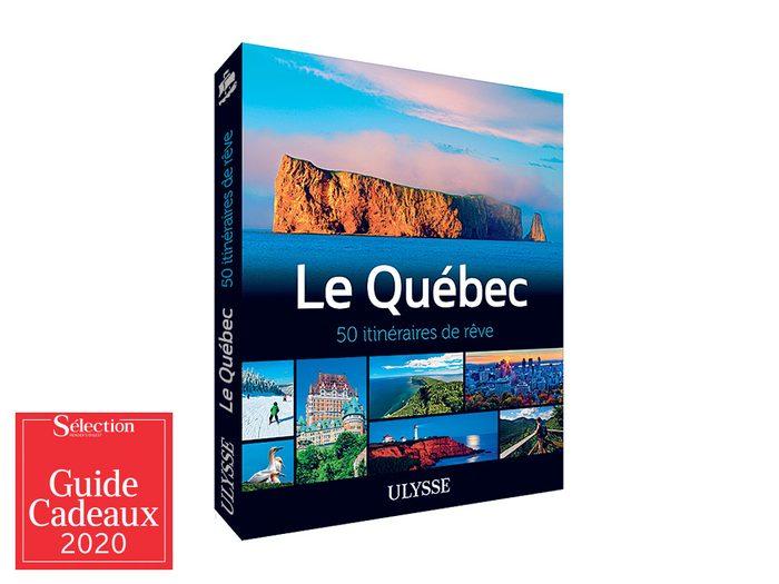 L'album «Québec: 50 itinéraires de rêve» fait partie des idées de cadeaux de Noël.
