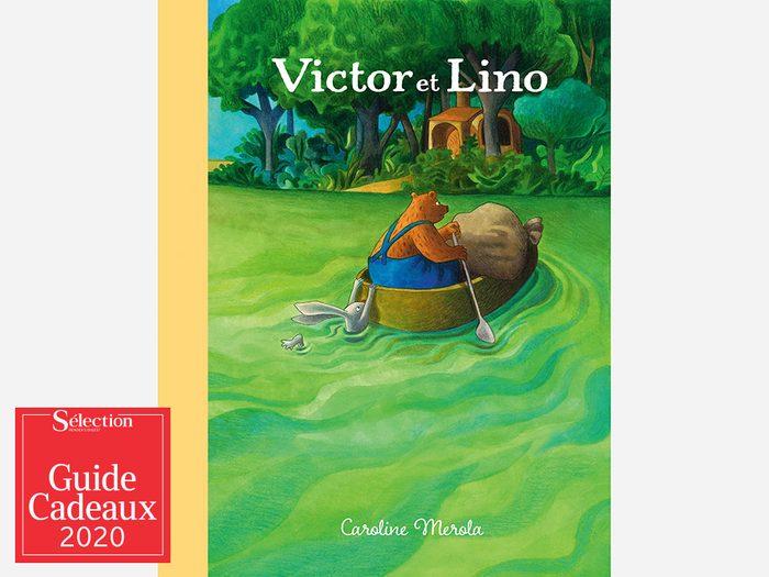 Le livre «Victor et Lino» fait partie des idées de cadeaux de Noël.