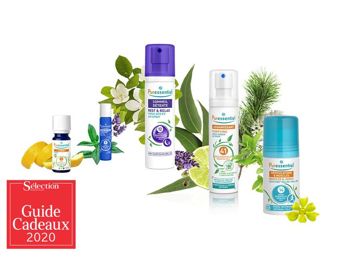 La gamme de produits naturels Puressentiel fait partie des idées de cadeaux de Noël.