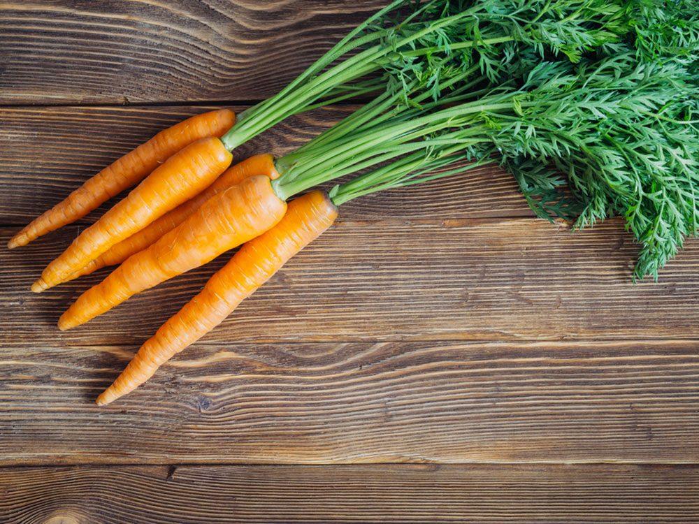 Votre chien peut manger des carottes.