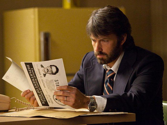 Argo est l'un des films au palmarès des pires erreurs historiques.