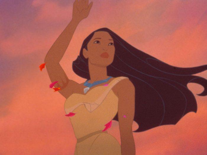 Pocahontas est l'un des films au palmarès des pires erreurs historiques.