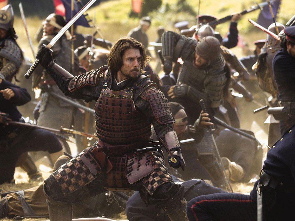 Le Dernier Samouraï est l'un des films au palmarès des pires erreurs historiques.