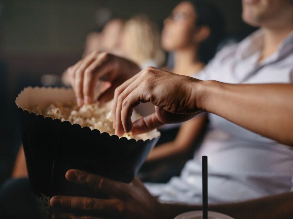 Regarder un film d'horreur peut vous aider à calmer vos angoisses.