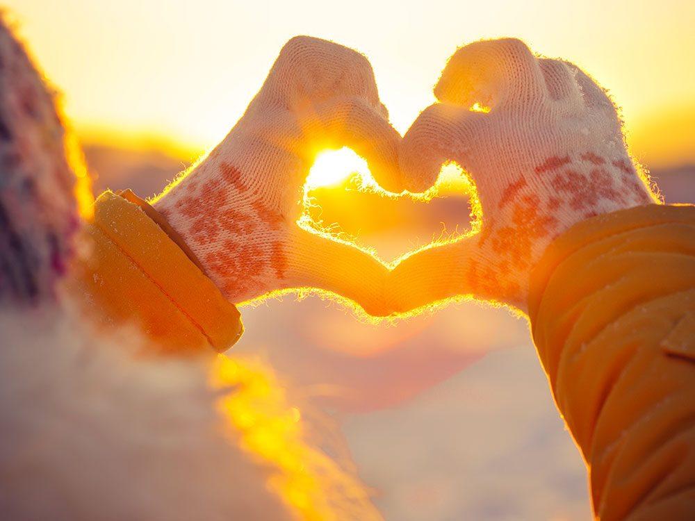 Le froid renforce le cœur.