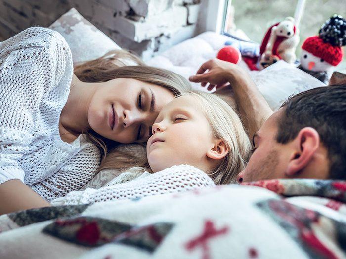 Le froid favorise le sommeil.