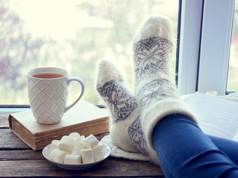 Le froid combat les infections.