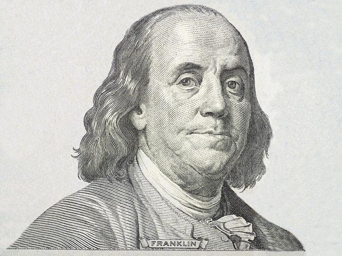 Certains disent que Benjamin Franklin est à l'origine de l'heure d'été.