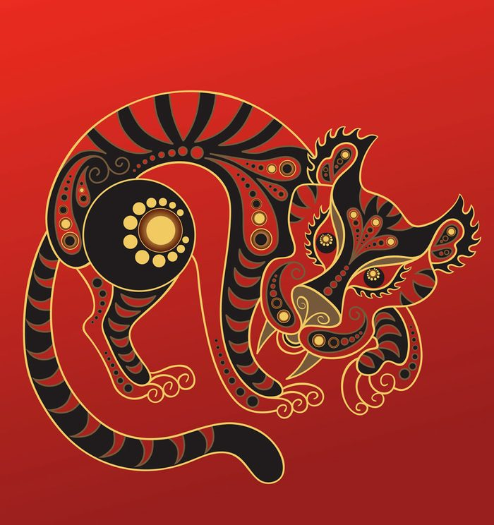 Le tigre dans l'horoscope chinois.