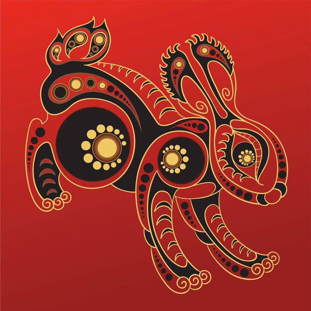 Le lapin dans l'horoscope chinois.