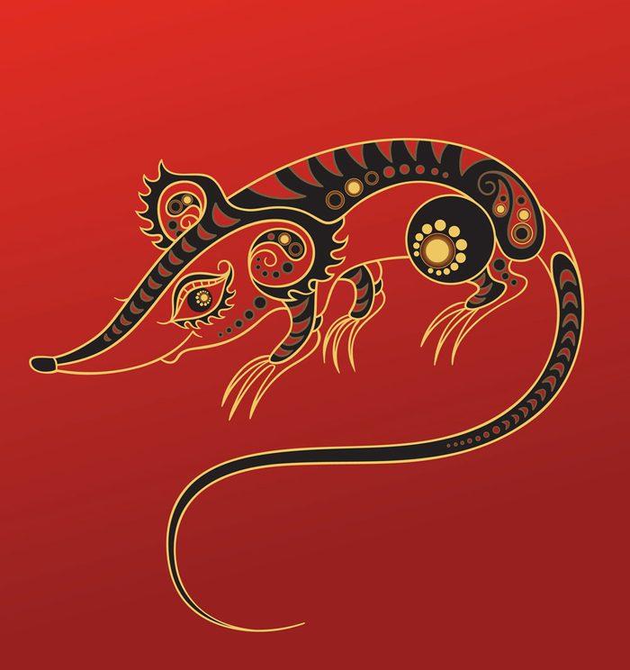 Le rat dans l'horoscope chinois.