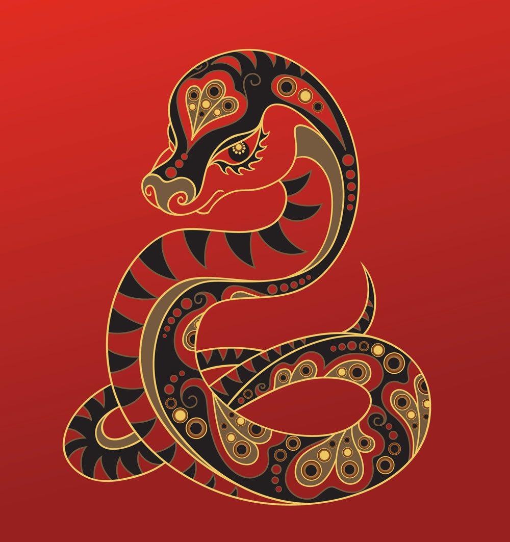 Le serpent dans l'horoscope chinois.