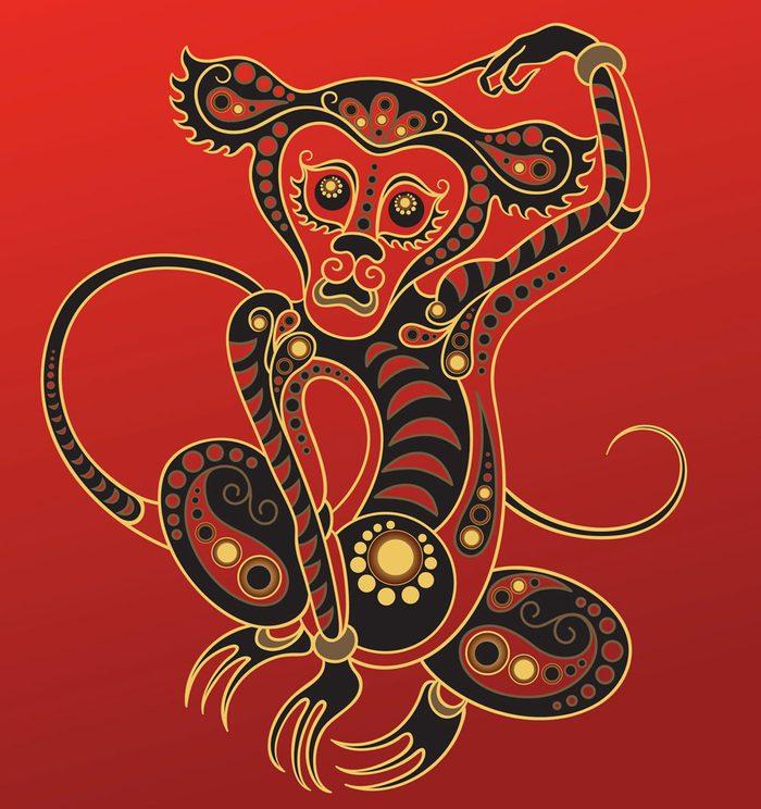 Le singe dans l'horoscope chinois.