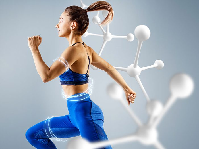 On ne peut pas accélérer le métabolisme pour perdre du poids.