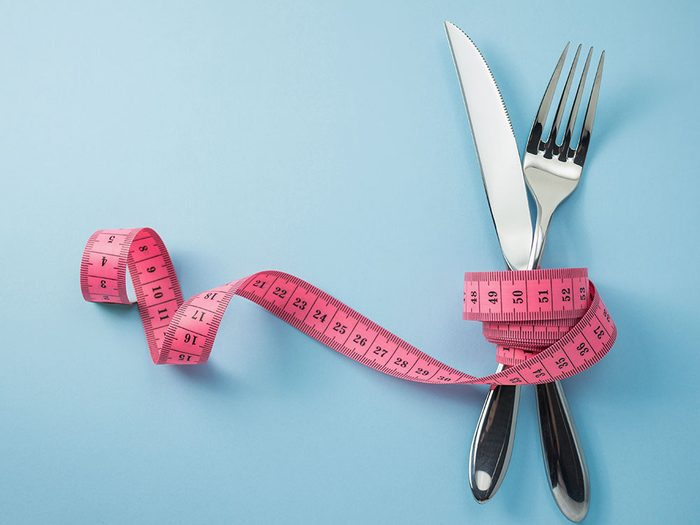 Les régimes ralentissent le métabolisme.
