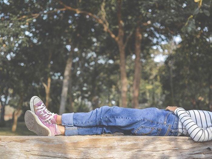 L'énergie va d'abord au métabolisme au repos.