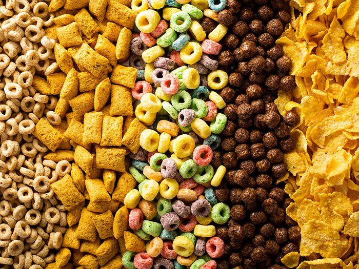Les milléniaux ont fait disparaître les céréales de déjeuner.