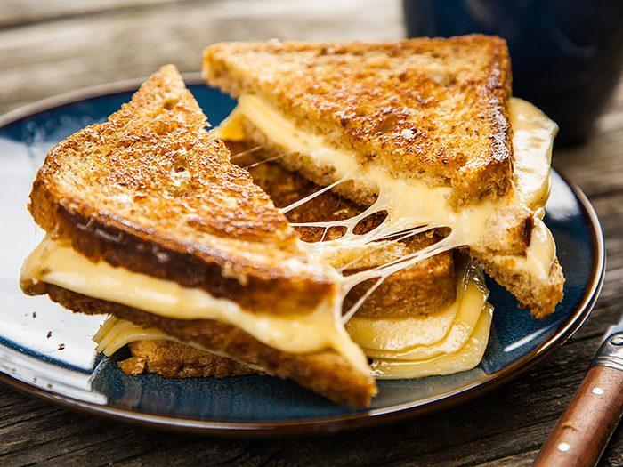 Les milléniaux ont fait disparaître le fromage américain.